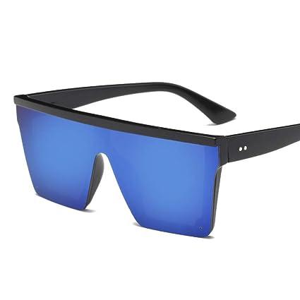 WSXCDEFGH Gafas De Sol De Gran Tamaño para Mujer Gafas De ...