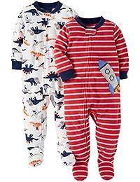 Baby Boys' 2-Pack Fleece Pajamas