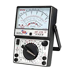 uxcell Analog Multimeter, Analog Voltmeter, 24 Ranges and Functions