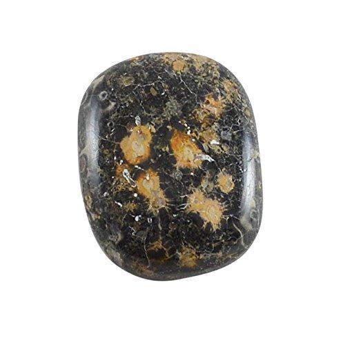 divineimpex 21.4 CTS Leopard Skin Jasper長方形Cabochon Loose宝石pg-124795   B0763PQLZT