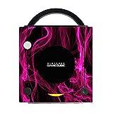 vaporizer case for smoking - Pink Smoke Gamecube Vinyl Decal Sticker Skin by Moonlight Printing