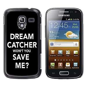 - Dream Catcher - - Fashion Dream Catcher Design Hard Plastic Protective Case Cover FOR Samsung Galaxy Ace 2 Retro Candy