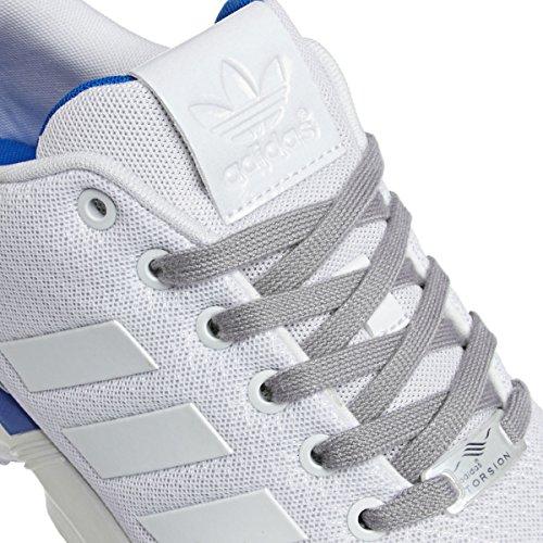 adidas Zx Flux - - Hombre Multicolore (Ftwwht/Ftwwht/Blubir)