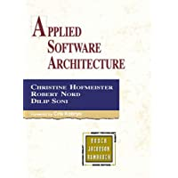 Applied Software Architecture: A Practical Guide for Software Designers (Addison-wesley Object Technology Series)