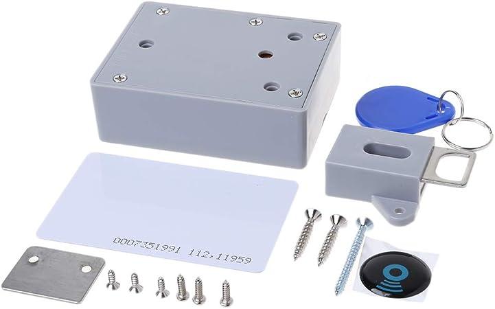 RFID Serrure de tiroir /à Digital DIY Electronic Armoire cach/ée Smart Verrouille invisible sauna Chaussure Verrou de s/écurit/é Smart Armoire sans cl/é sans Pr/épliage trou