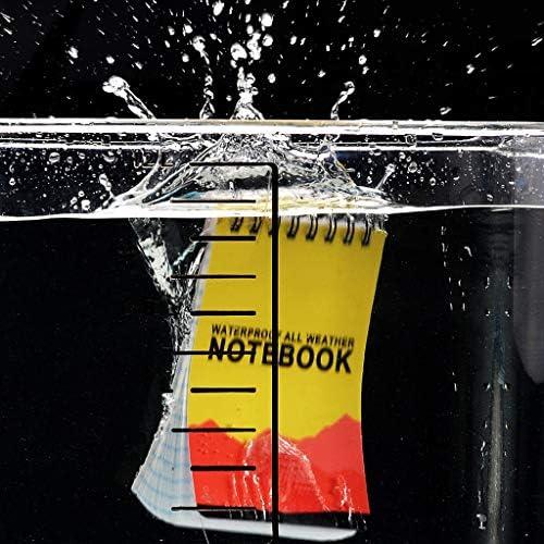 ruiruiNIE Wasserdichtes Notepad Language Learning Coil Book Vokabeltagebuch Notebook Travel