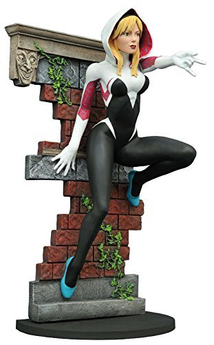 (Marvel Gallery Spider-Gwen Exclusive 9-Inch PVC Figure Statue [Unmasked])