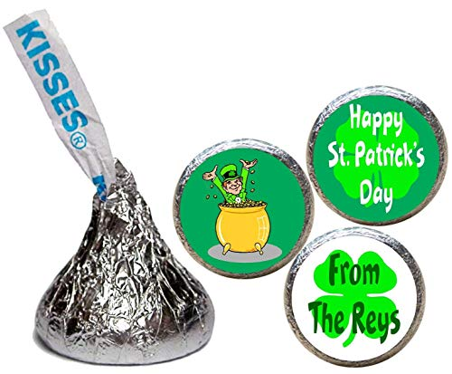 (St. Patrick's Day Stickers for the Bottom of Chocolate Kisses (Set of 108)(KH31))