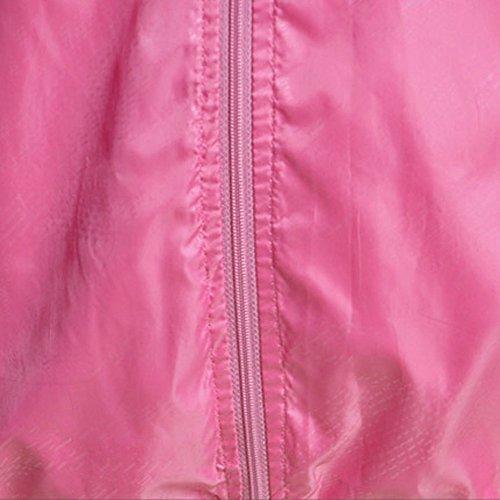 Rose Sport Homme Légère Séchage Femme À Protection Rapide Uv Laamei Vent Imperméable Capuche Veste Packable Coupe De Yqa5Fw5