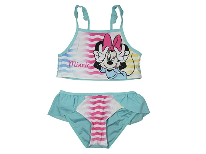 Minnie Mouse - Traje de Dos Piezas - para niña: Amazon.es ...