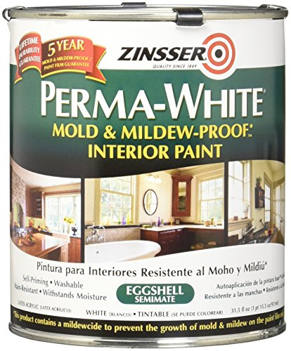 RustOleum 2774 Zinsser Interior Eggshell Perma White