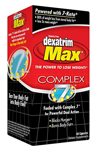 Stacker 2 Dexatrim Max Control 7 Energy Supplement, 60 Count