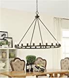 Hemsworth Metal Oil Rubbed Bronze 24-light Chandelier