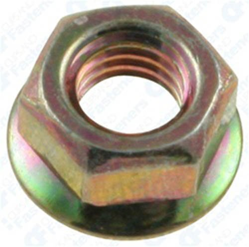Clipsandfasteners Inc 100#10-32 Free Spinning Washer Nuts 3/8 O.D. ()