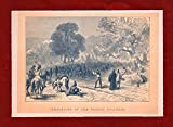 img - for Completion of the Pacific Railroad, Vintage Engraving. State of MIssouri, Historical Trains / Railway Engraving, 1877. Felix O.C. Darley (Artist), Alfred [aka Albert] Bobbett (Engraver). Train, Railwa book / textbook / text book