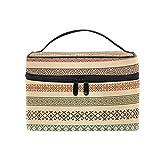 Cosmetic Case Bag Africa Art Portable Travel Makeup Bag Toiletry Organizer