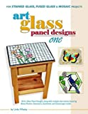 Art Glass Panel Designs One - 18 Patterns for Stained Glass, Mosaic & Fused Glass (No. 1)