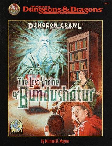 The Lost Shrine of Bundushatur (Advanced Dungeons & Dragons : RPGA Network Dungeon Crawl)