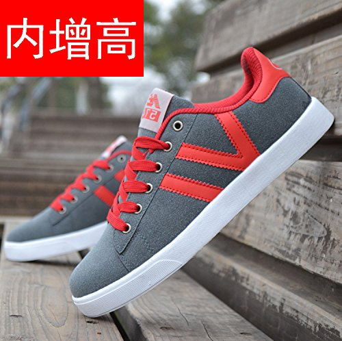nbsp;Spring sports summer casual increase nbsp; men's the shoes pad shoes board breathable Red canvas GUNAINDMX 501xwUw