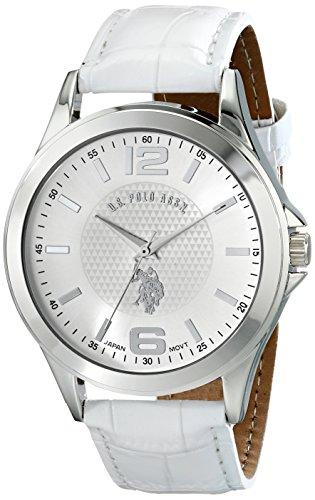 U.S. Polo Assn. Classic Men's USC50202 Analog Display Analog Quartz White - Watch All White