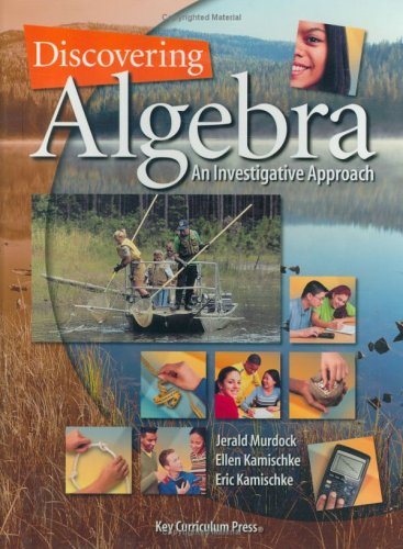Download Discovering Algebra: An Investigative Approach (Discovering Mathematics) pdf