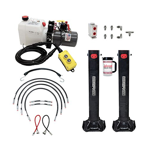 Hydraulic Trailer Jacks (Twin) Kit. ()