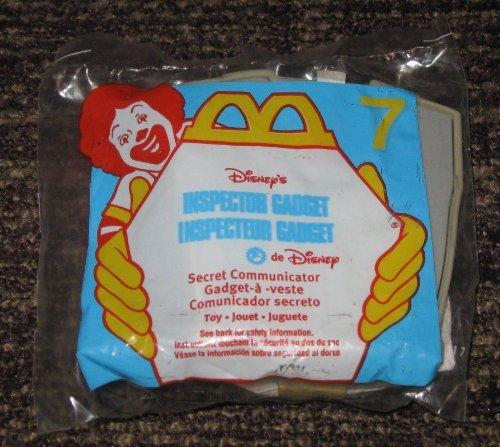 Gadgets Happy - 1999 Inspector Gadget McDonalds Happy Meal Toy Secret Communicator #7