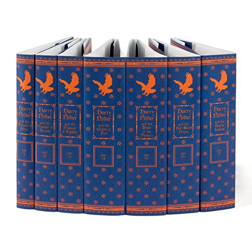 Juniper Books Harry Potter Ravenclaw House Custom DUST JACKETS ONLY (Books Not Included)   for Your Seven-Volume Hardcover Book Set