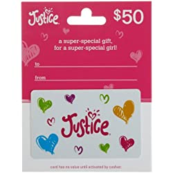 Justice Gift Card $50