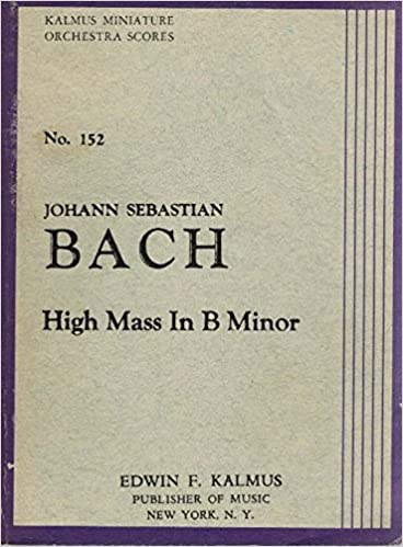 Mass No. 3 in F Minor: Miniature Score: 0 (Kalmus Edition)