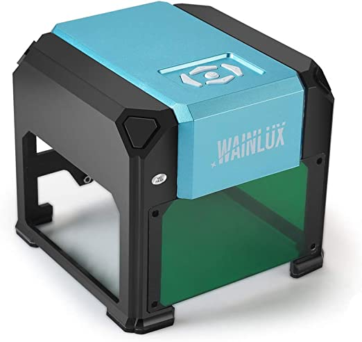 SIMEEGO Mini CNC Laser Engraving Machine Wood Router Handheld DIY Laser Engraver for Marking Lettering Printing Tools