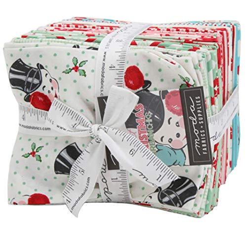 (Sweet Christmas 26 Fat Quarter Bundle by Urban Chiks for Moda Fabrics)