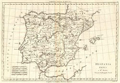 Amazon.com: Hispania Vetus. Ancient Iberia. Lusitania. Spain ...