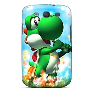 Great Cell-phone Hard Covers For Samsung Galaxy S3 (kgv3287kKZU) Support Personal Customs High-definition Yoshi Pattern