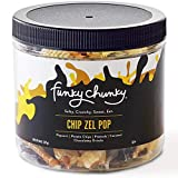 Funky Chunky Chip Zel Pop Popcorn, 8-Ounce Canister (Pack of 12)