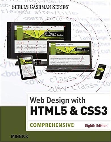 Web Design W/Html5+Css3:Comprehensive