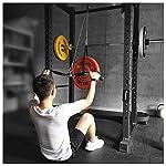 ZG-HOME-Lift-Pulley-SystemAvambraccio-Polso-Blaster-Trainer-Arm-Strength-Roller-Ginnico-con-LAT-Pulldown-e-Lift-Pulley-Systemper-Tricipiti-Pull-DownBicipiti-CurlIndietroAllenare-Forza25m