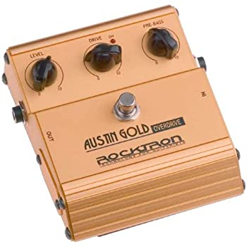 rocktron austin gold overdrive guitar effects pedal musical instruments. Black Bedroom Furniture Sets. Home Design Ideas