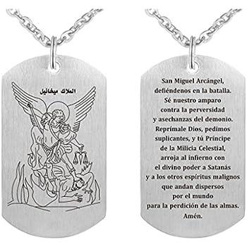 89c45cbea4456 Amazon.com: Freedom Love Gift St. Saint Michael Archangel Prayer ...