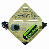 Scrubba Portable Clothes Washing Bag (Black) 2018/19 Model for Travel, Camping, Hiking and Cleaning Laundry Anywhere