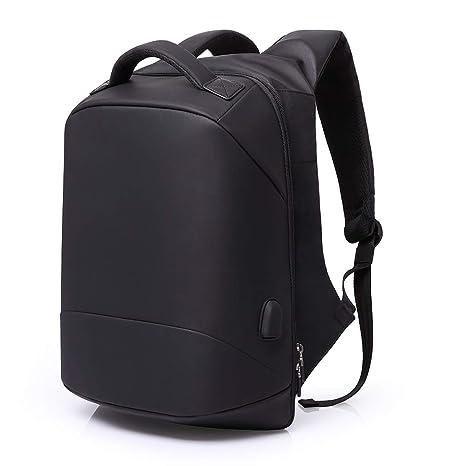 CHANG Mochila para Laptops DE 15.6 Pulgadas, Mochilas Impermeables Multifuncionales USB para Estudiantes Mochila para