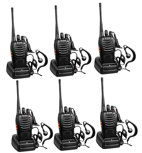 Arcshell Rechargeable Long Range Two-Way Radios with