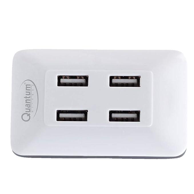 Quantum QHM6633 4 Port Hi-Speed USB Hub (Multicolor)