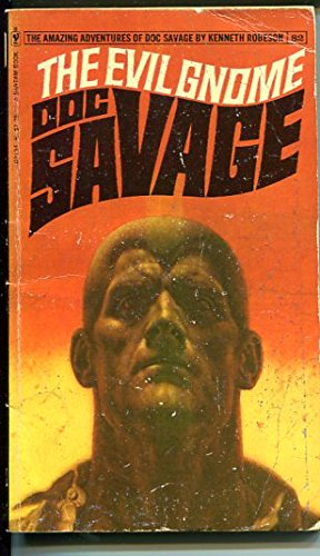 DOC SAVAGE-THE EVIL GNOME-#82-ROBESON-G/VG-JAMES BAMA COVER-1ST EDTION G/VG ()