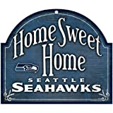 """NFL Seattle Seahawks 91893012 Wood Arched Sign, 10"""" x 11"""""""