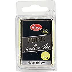Viva Decor Pardo Jewelry Clay, 56g, Neon Yellow