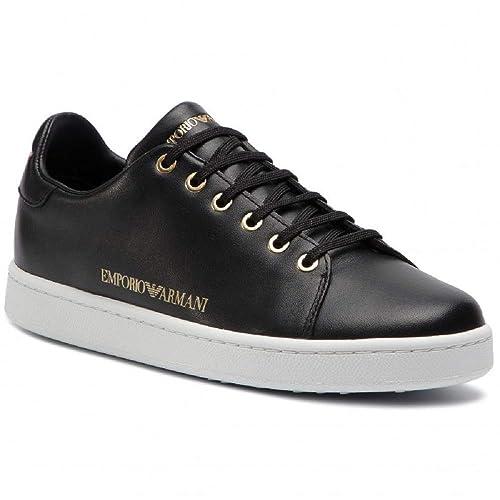 5f475d85845ecd Emporio Armani DI Giorgio Armani Sneakers Donna Nero N 37: Amazon.it ...