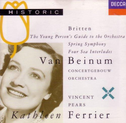 Britten: Spring Symphony / Four Sea Interludes