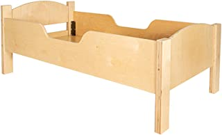 product image for Little Colorado Traditional Baltic Birch Toddler Bed, Unfinished