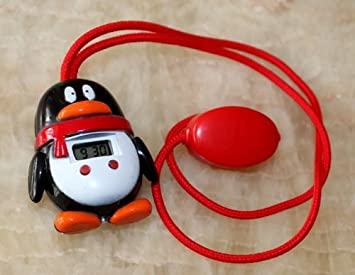 Sitting Pose Corrector And Reminder Alarm Penguin And QQ Style